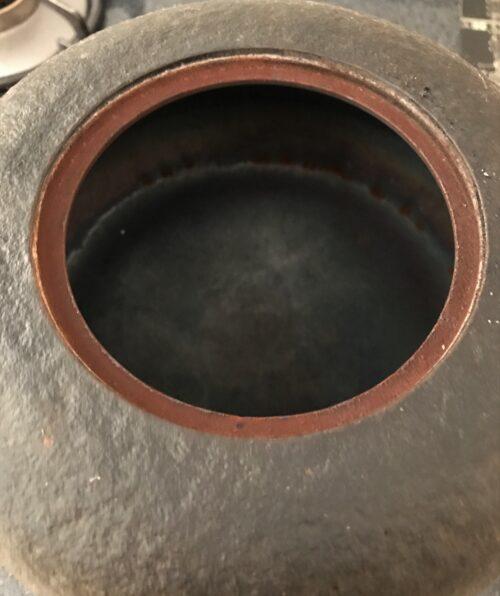 鉄瓶のサビ