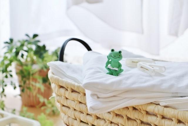 梅雨時の洗濯